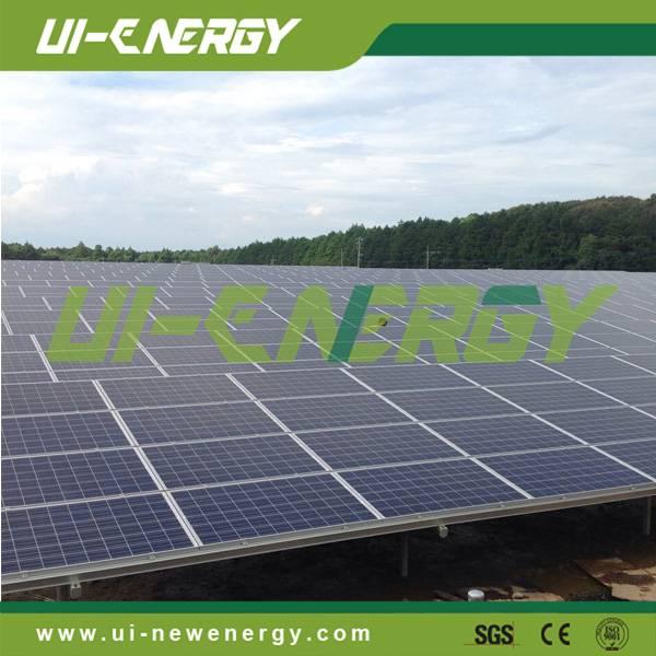 Solar power plant gound mounting system solar panel brackets