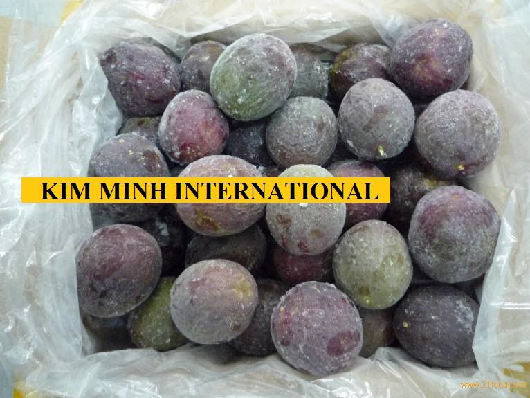 FROZEN PASSION FRUIT WITH HIGH QUALITY