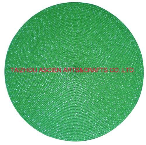 Hot mats Xmas placemats tableware dinnerware YS-PP2080R