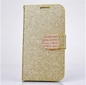 """Bling Glitter Flip Wallet PU Leather Case Cover Stand For 5.5"""" iPhone 6 Plus"""