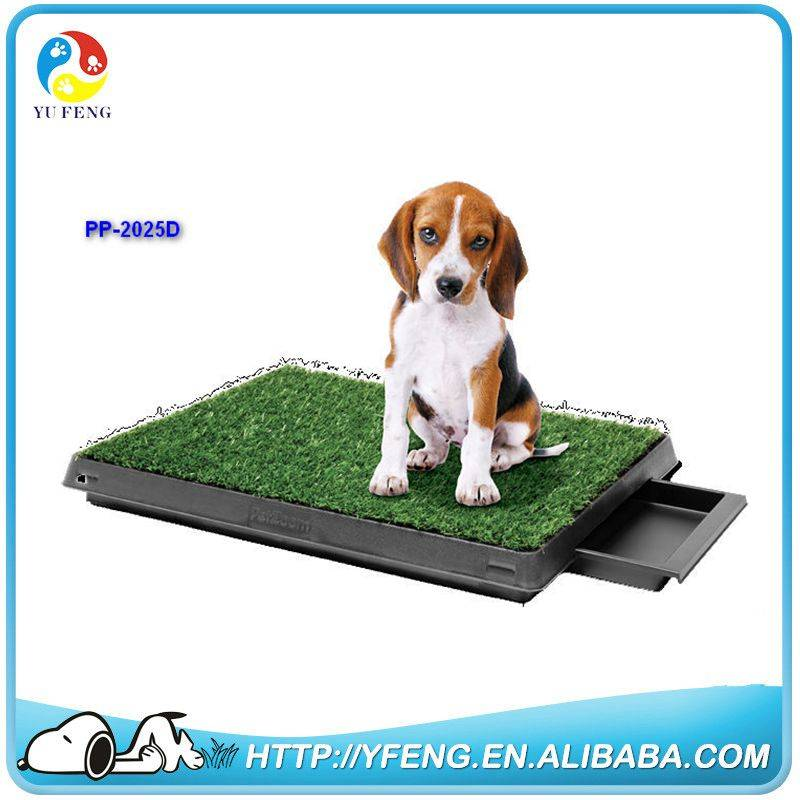 Hottest PetZoom Pet Park Indoor Pet Pee Potty Patch with Tray