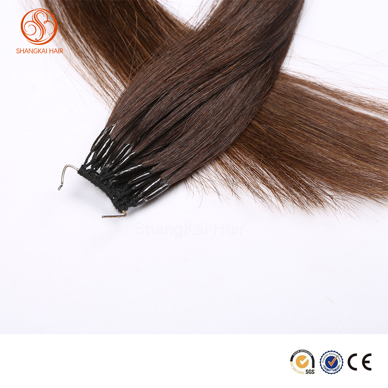 New Single Strand Micro Ring Hair Extension with Silicone