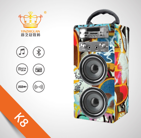 Hot sale Karaok Subwoofer portable Speaker