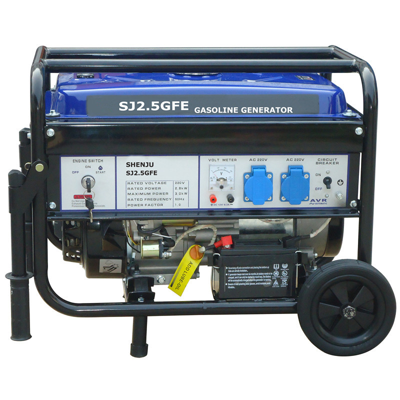 2.5KW Gasoline generator sets with electric Start with high quality