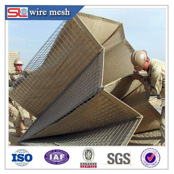 galvanized welded wire mesh hesco barriers