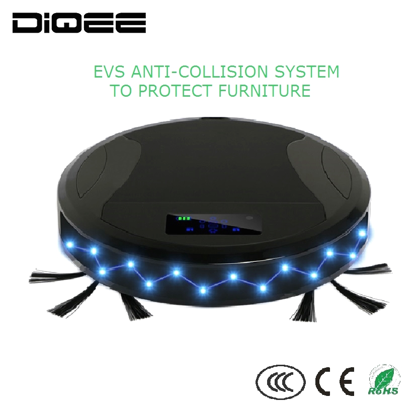 Top sale Robotic dust vacuum cleaner with Wi-Fi,Ash vacuum cleaner with Wi-Fi China