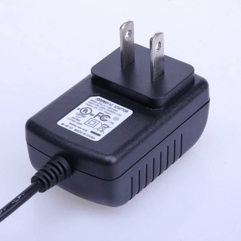 AC 100V-240V Converter Adapter DC 5V 1A Power Supply US Plug DC 5.5mm x 2.1mm 1000mA with EN60950