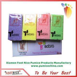 foam pumice sponges for hard skin remover