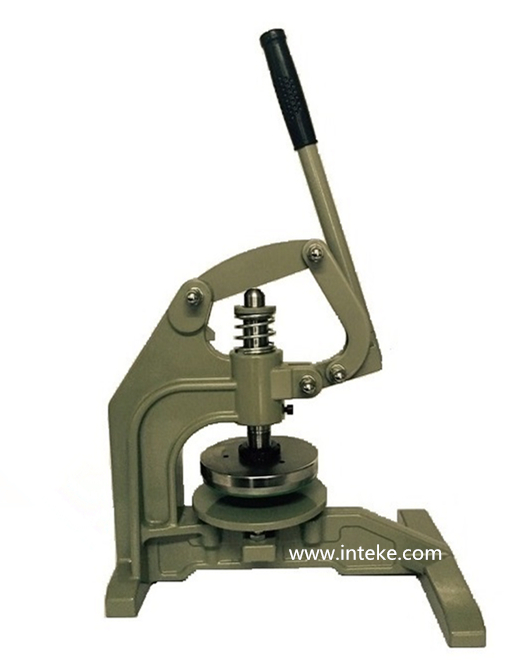 Hand Operated Swatch Circular Fabric Gsm Round Sample Cutter /Pressing Sample Cutter