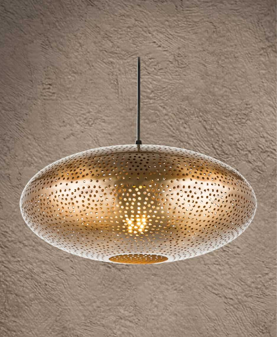 XV-06 corrosion pendant light