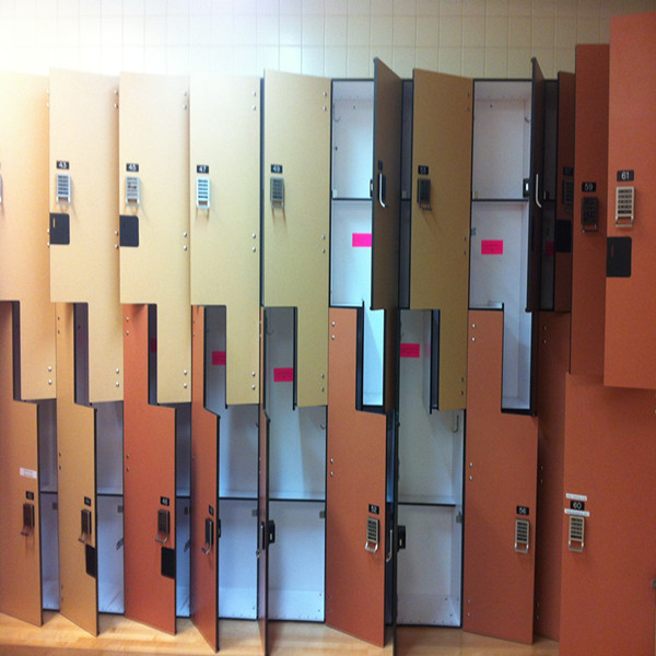 Rich-Lees China custom Color Design steel hpl locker