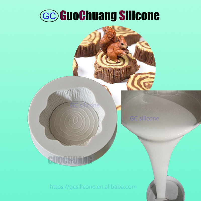 FDA rtv2 liquid silicone for chocolate moulds making