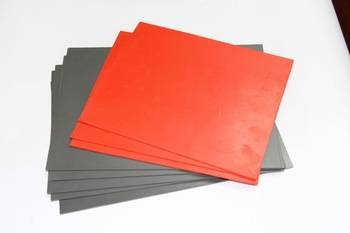 Office rubber sheet for stamp with plastic machine OEM