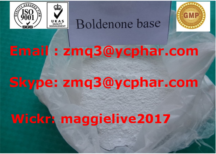 CAS 846-48-0 Cutting Cycle Steroids Boldenon Base Hormone