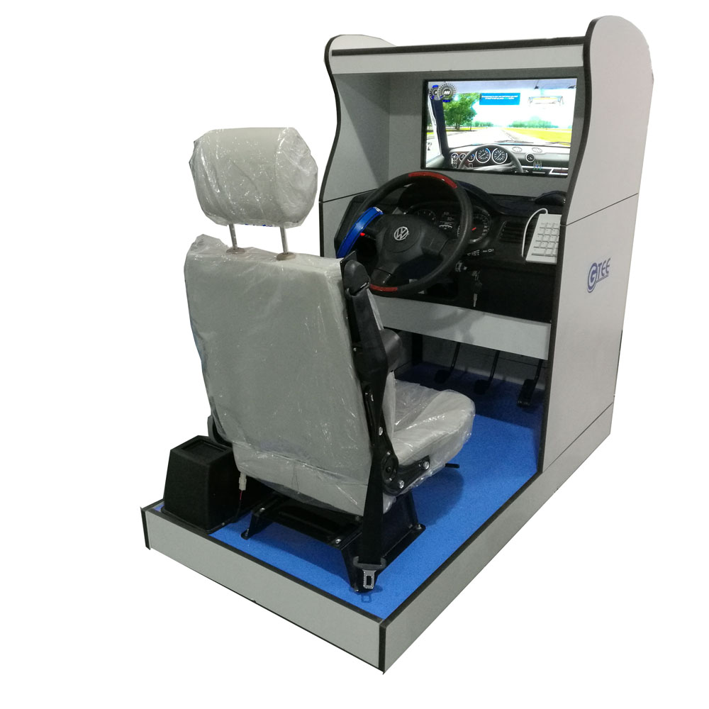 Standard car driving simulator(one screen)