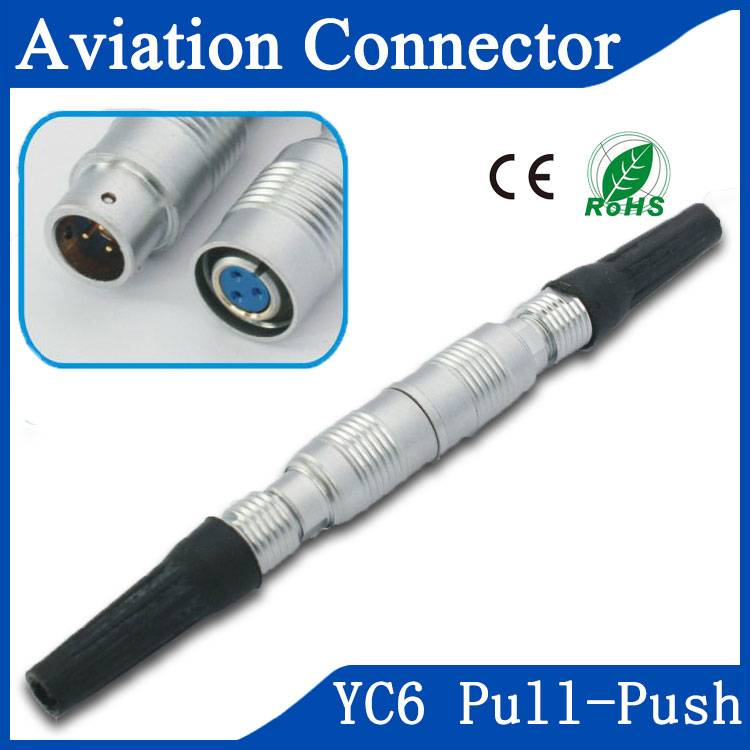 YC7 pull push connector