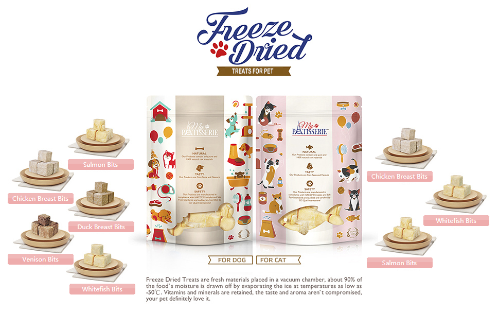 My Pet Patisserie - Freeze Dried