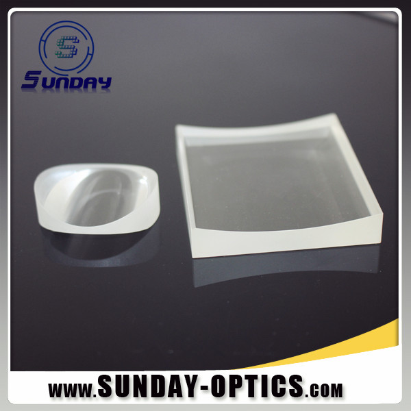 Plano Concave Cylindrical Lens Optical Glass