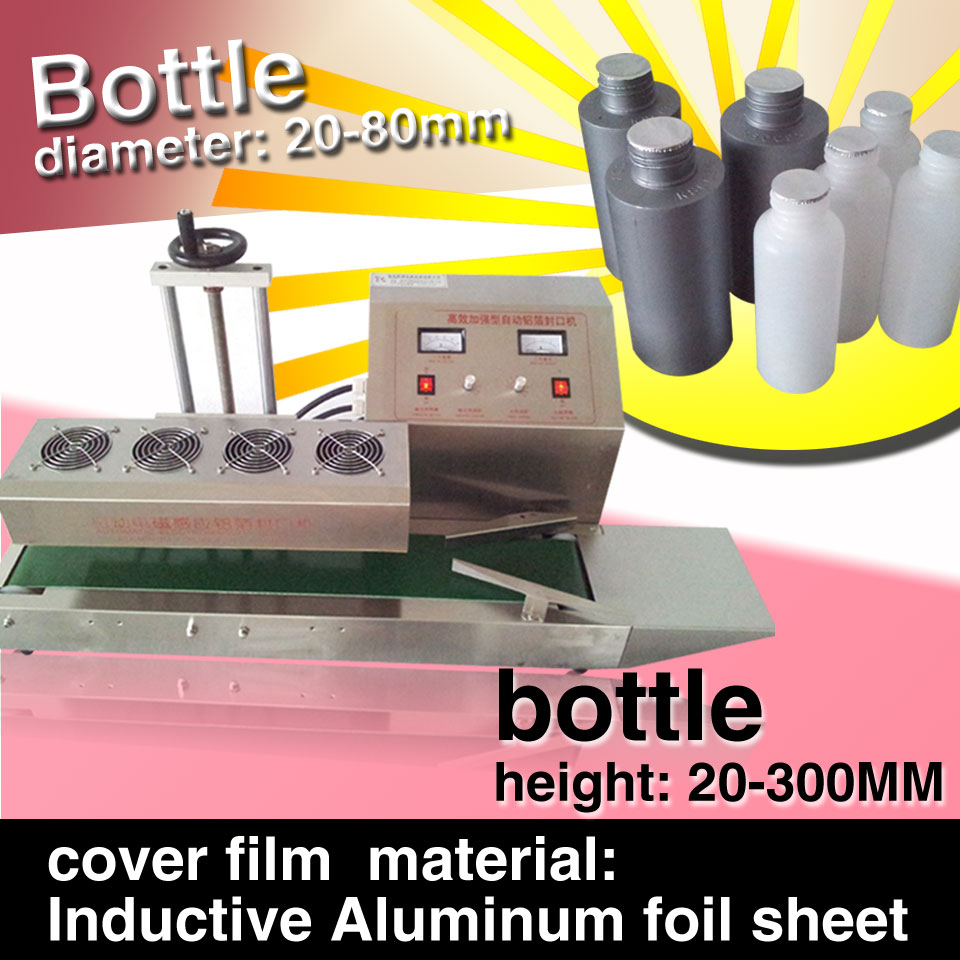 Electromagnetic Continuous Induction Aluminum Foil Sealing Machine,20-100mm