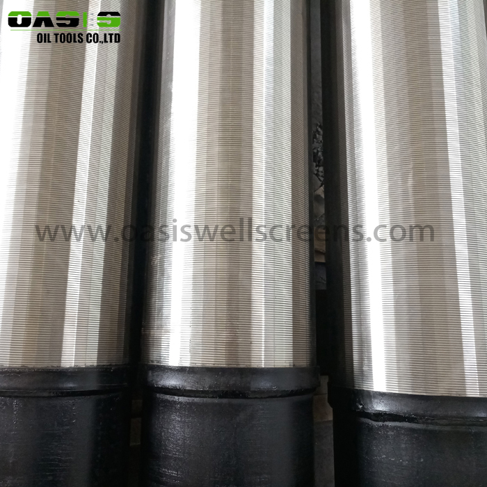 Stainless Steel Wedge Wire Pipe Base Sand Control Screen