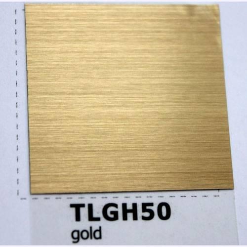 Polyester gold brushed film