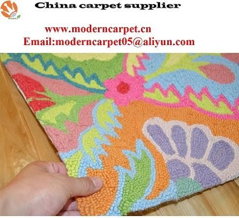 Hand hooked indoor outdoor carpet rugs,hand hooked carpets,hand hooked rugs.