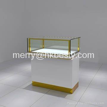 Fashion style jewelry display counter with LED lights