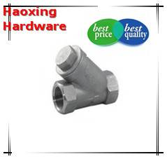 """1/2"""" Inline Y Filter Fitting 304/316 Stainless Steel Strainer made in China"""