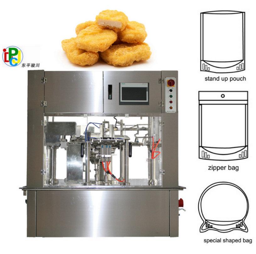 Frozen Chicken Automatic Pouch Packing Machine