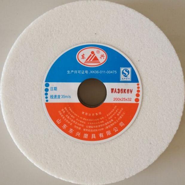 wholesale white aluminum oxide WA T1A1 vitrified grinding wheel