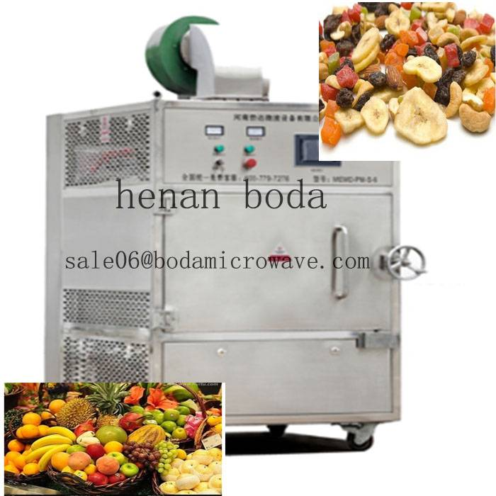 batch type microwave oven for fruit