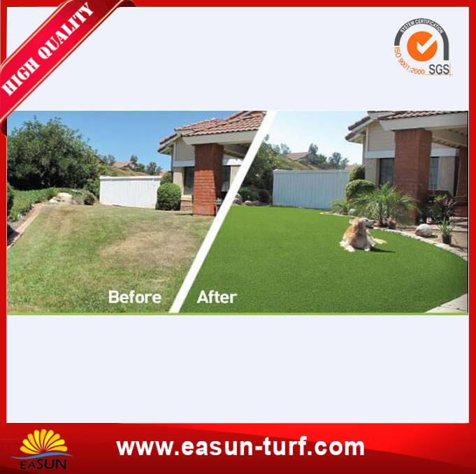 Top Quality Outdoor Garden Synthetic Artificial Grass Turf for Sale-MY