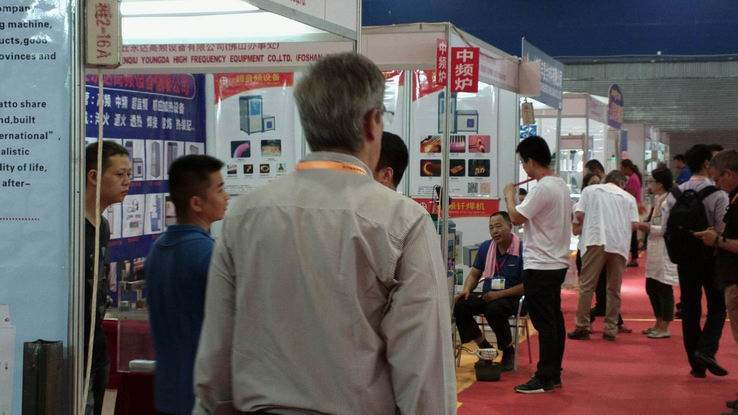 2018 China(Guangzhou) Int'l Bearing and Equipment Exhibition booth