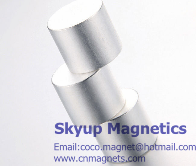 Arc magnets used in generators and motors