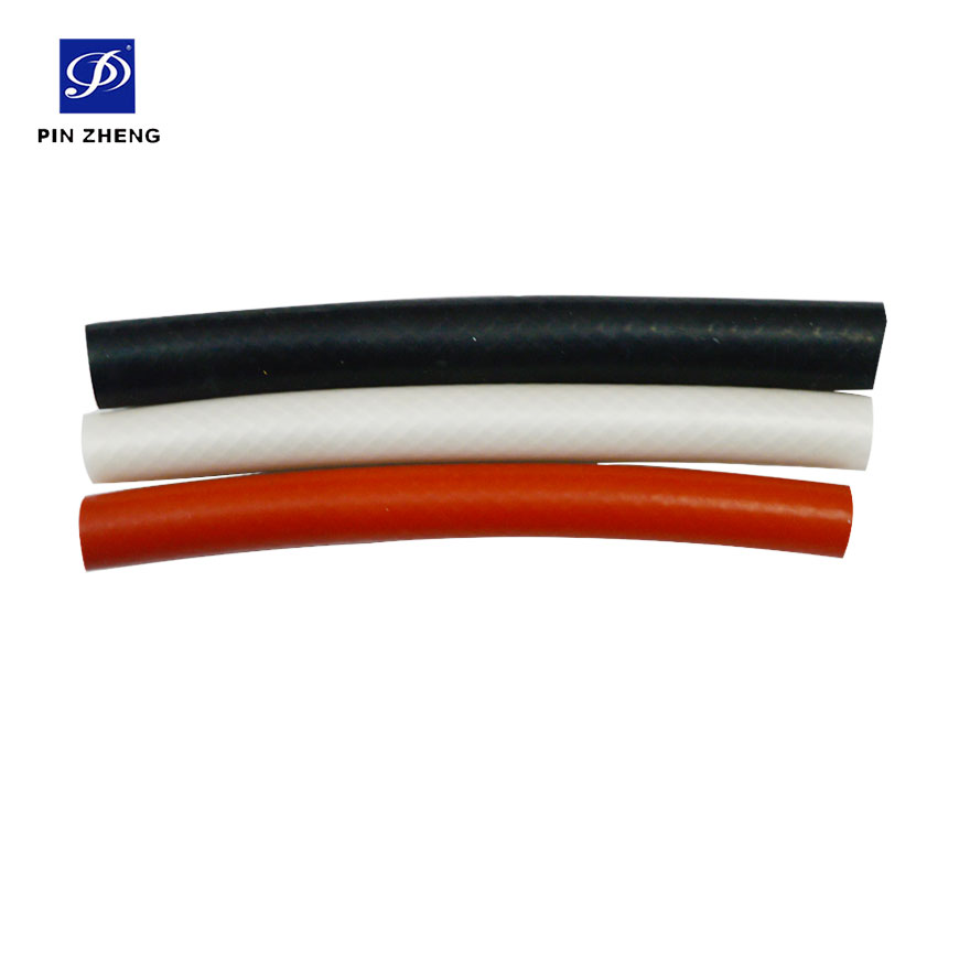 high temperature heat resistant silicone rubber automobile water outlet pipe