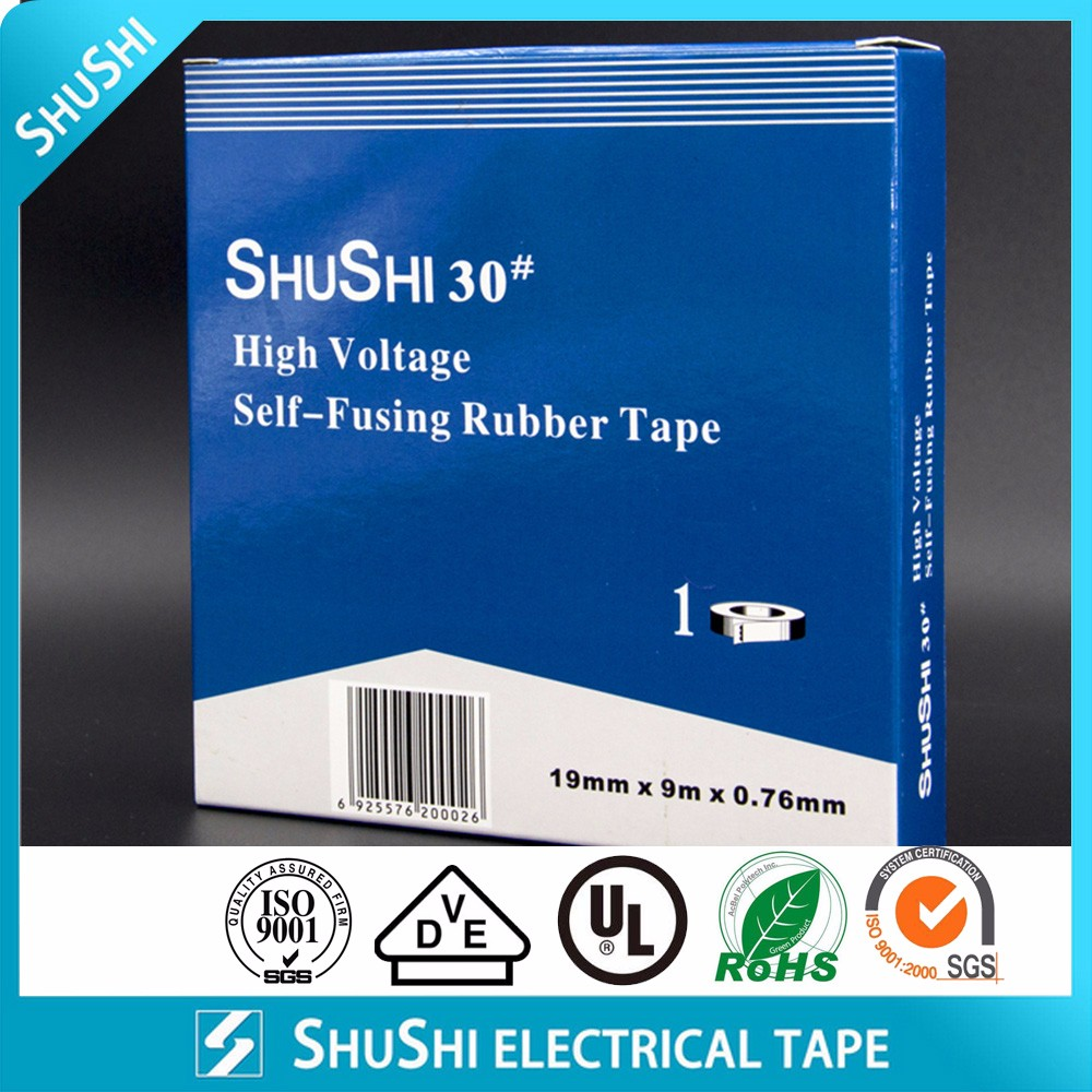 Shushi 30# High Voltage Self-fusing Rubber Tape