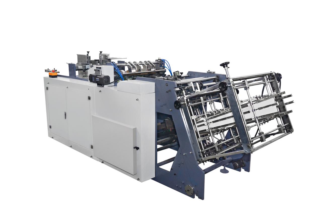 Paper fast food noodle box making machine MR-800C