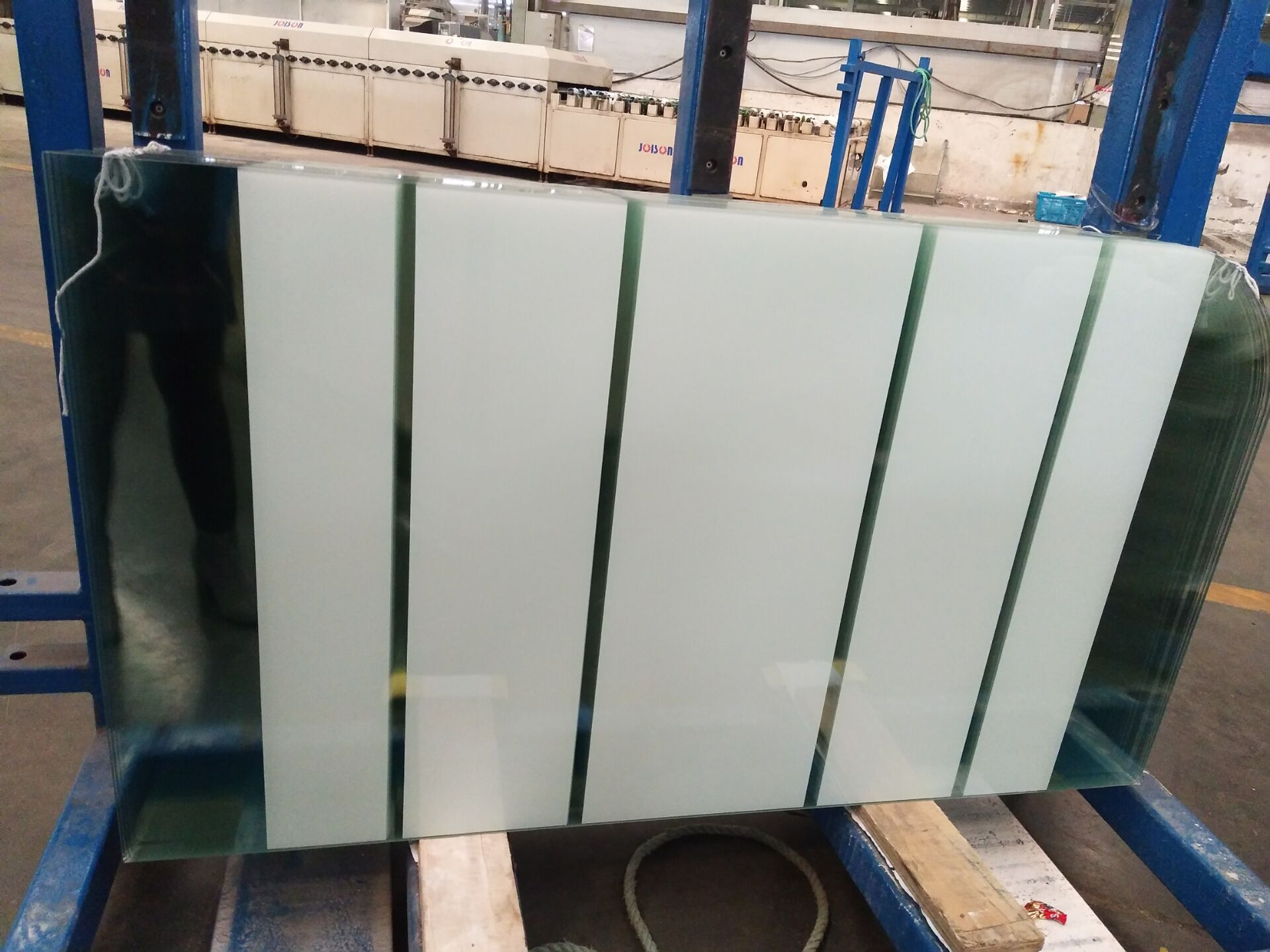 CSI certification of toughened glass for shower screen