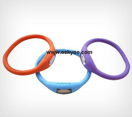 Health Ion Silicone Watch Promotional Gift