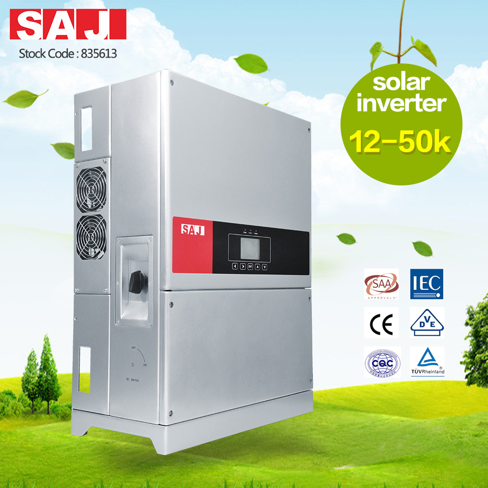 SAJ Commercial PV Inverter 12-20kW 3 Phase Variable Frequency Converter