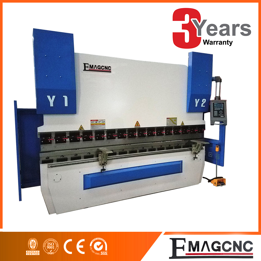 CE & ISO 160tons carbon steel servo CNC press brake
