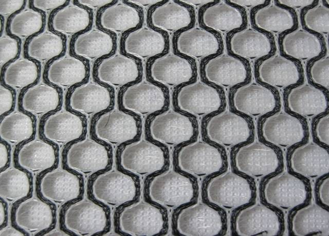 sandwich air mesh fabric with big holes