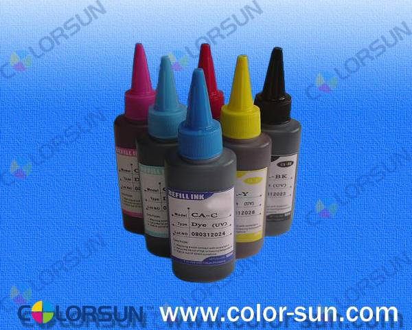 Universal Dye Ink for Epson Printer (100ml sharp mouth bottle)
