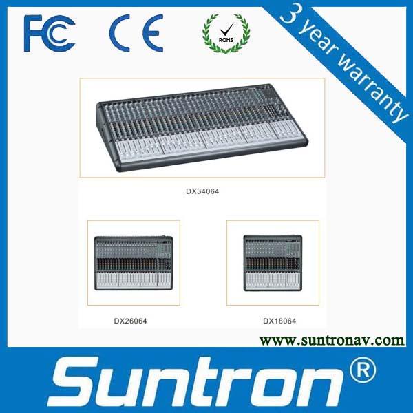 SUNTRON DX Series 4 Grouping Mini Audio Mixer