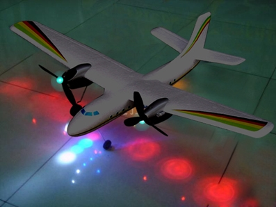 Flying Toys At Night