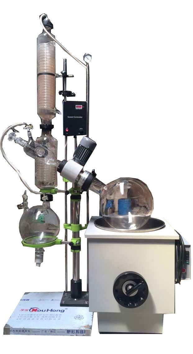 10L Vertical Glassware Distillation vacuum industrial rotary evaporators