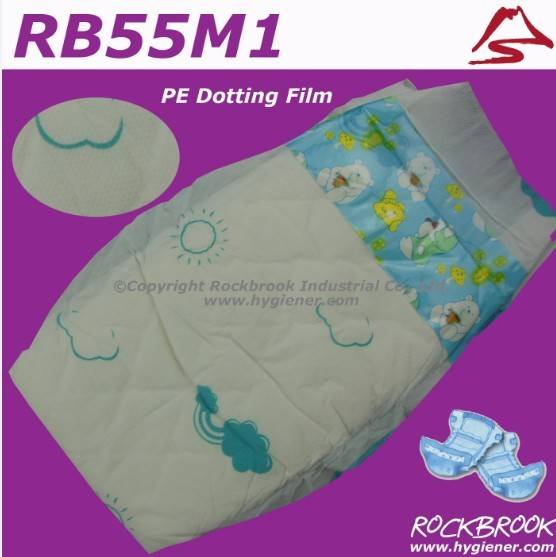 Sleepy baby diaper with competitive price from Fujian