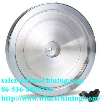 Customized Sand Casting Fitness Equipment Flywheel with Machining