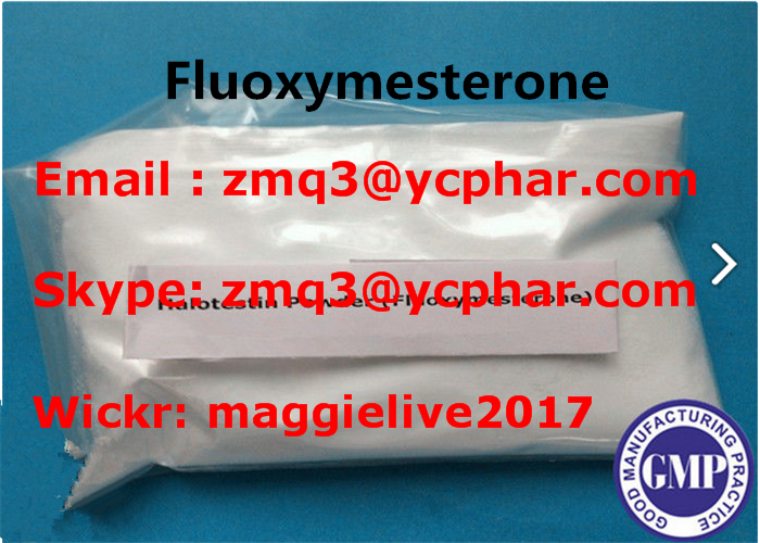 Anabolic Steroid Fluoxymesterone raw Powder Halotestin for Muscle Building