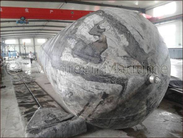 Evergreen Top brand marine airbags for ship launching, marine salvage, heavy lifting